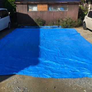 特大ブルーシート 5.4m × 7.2m