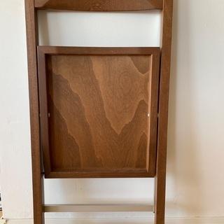 イタリア製 折り畳み椅子 2脚