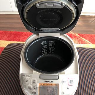 日立圧力スチームHI5.5号焚き - 家電
