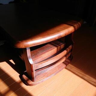 アンティークローテーブル   ダークブラウン - 売ります・あげます