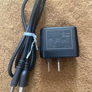 充電器SH-AC04 スマートフォン用充電器