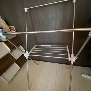 ステンレスX型物干し − 福岡県