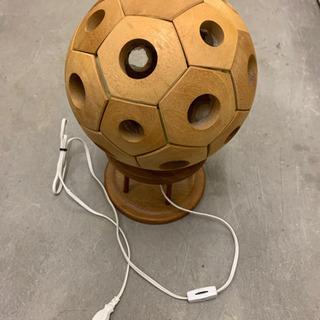 サッカーボールの照明器具
