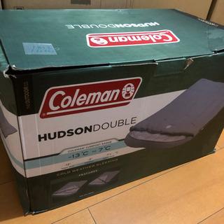 コールマン ハドソンダブル 2人用 寝袋 新品 -13℃まで対応