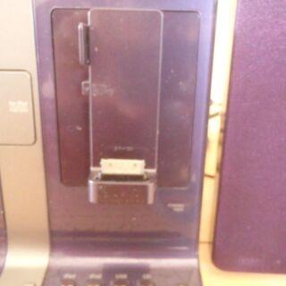 iPad/iPod/iPhone対応コンポ(JVC製 型番:UX-VJ5) - 家電