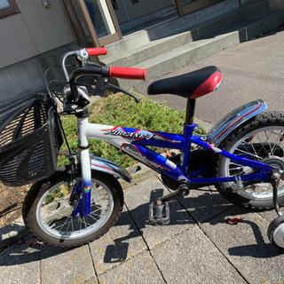 子供用自転車 補助輪つき!
