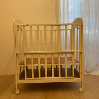 カトージ ベビーベッド ベット 赤ちゃんに プチバニラ