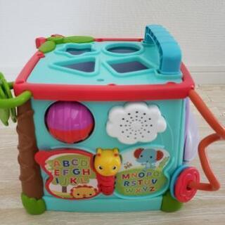バイリンガル ラーニングボックス おもちゃ 赤ちゃん