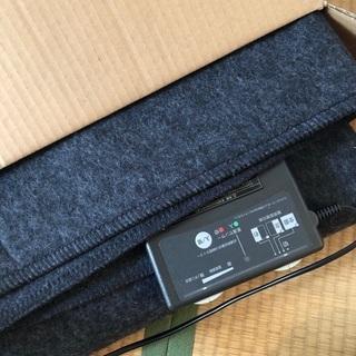 ホットカーペット 無印 2畳用 2011年製 カバー付
