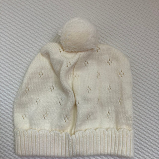 ベビー帽子 洗濯のみの未使用 美品 サイズ40~42(⑅•ᴗ•⑅...