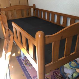 至急!無料ニトリのカントリー風シングルベッドです。
