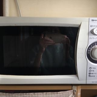 【取引中】電子レンジ 中古品 SHARP RE-T1