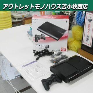 プレステ3本体 CECH-4000B  簡易動作Ok 黒 プレイ...