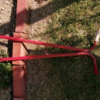 古い芝生カットパンチ 2本