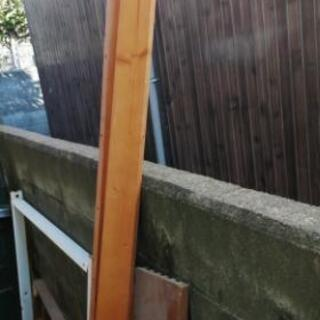 再利用木材 金属パイプ