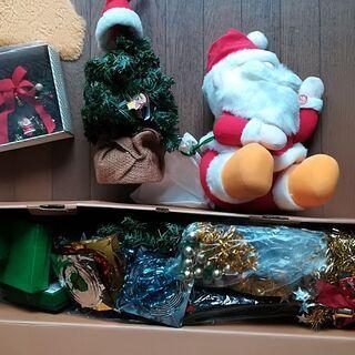 クリスマスグッズ クリスマスツリー サンタ人形 ディズニー