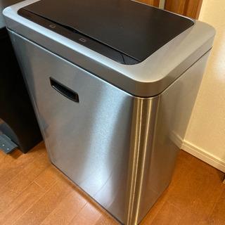 センサー式 自動開閉ゴミ箱 47L