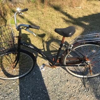 26インチ自転車:難あり
