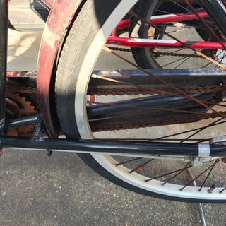26インチ自転車:難あり - 福岡市