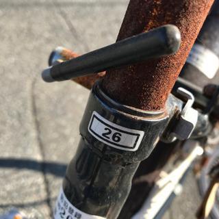 26インチ自転車:難あり − 福岡県