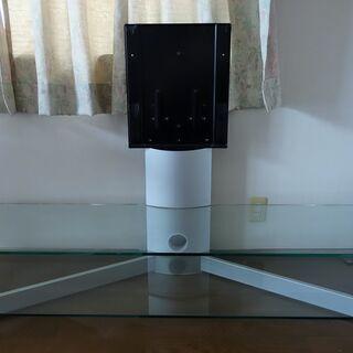 テレビ用壁寄せスタンド 壁掛け、壁寄せスタイルですっきり設置できます!