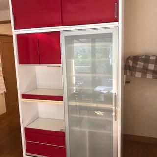 【値下!】キッチンボード  食器棚 カップボード