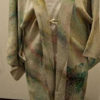 総絞り羽織(緑)