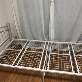 【美品】シングルベッドフレームのみ - 世田谷区