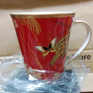 HANAE MORIマグカップ(レッド)