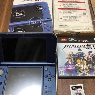 NINTENDO-3DSLL(メタリックブルー)+ファイアーエ...