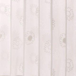 レースカーテン「デイジー」アイボリー 2枚1組【美品】
