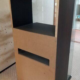 古いオーディオラック(現状渡し・取りに来ていただける方のみ) - 家具