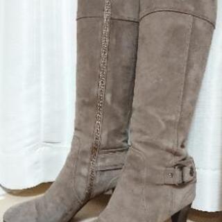 23.5cm   DIANA(ダイアナ) スエードロングブーツ