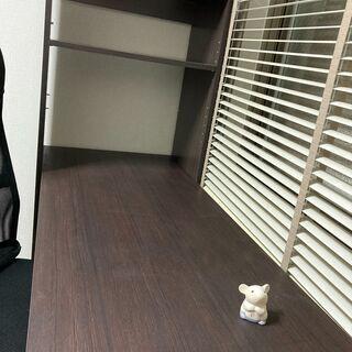 【中古品】初めての在宅勤務のスターターキットに本棚付きの机と椅子...