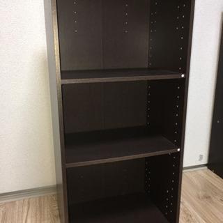 【ネット決済】3段式カラーボックス【本棚】