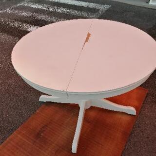 イケア 伸縮式テーブル インガートルプ ホワイト