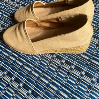 布地の靴 インハーブス