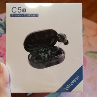 【新品未使用未開封✨】Bluetoothイヤホン C5②
