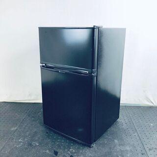 中古 冷蔵庫 2ドア トーホータイヨー 2019年製 90L ブ...