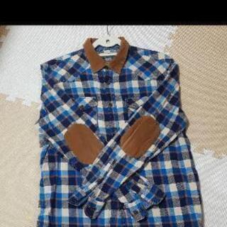 韓国インポート ネルシャツ チェックシャツ メンズ
