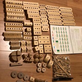 決まりました 家庭保育園 ゲーテの組み木
