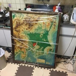 超珍品 立体地図「関東地方」