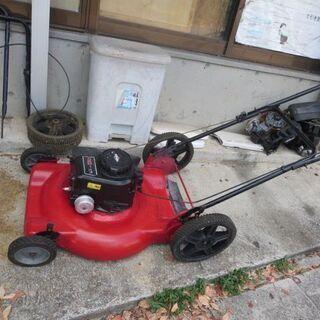 ②アメリカ製芝刈り機4.5馬力サイド排出!