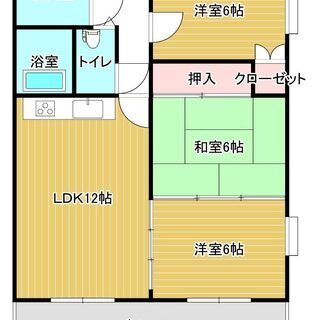 【礼金・仲介手数料0円!】RCマンション賃貸 初期費用ー183,...