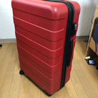 【取引終了】MUJI ハードキャリーケース(スーツケース)赤