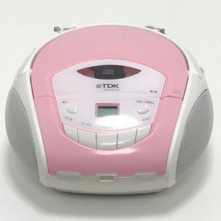 TDK ポータブルCDラジオ SP-CD8211