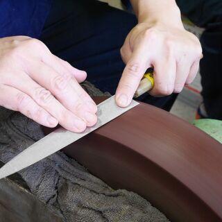 【少人数開催】堺の伝統工芸士に学ぶ包丁研ぎ体験