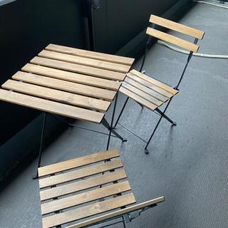屋外用 テーブル&チェア