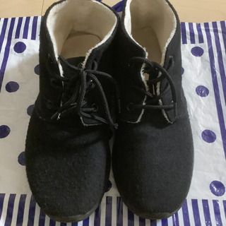 LLサイズ☆黒靴