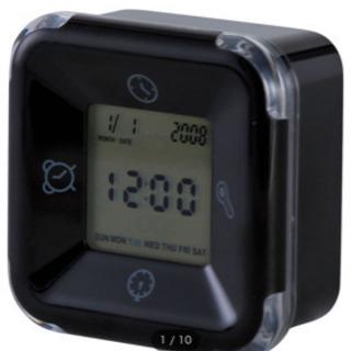 ニトリ デジタル時計